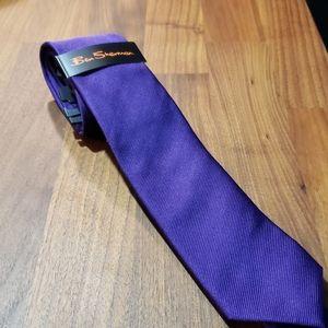 💙 5 for $16 Ben Sherman Purple Tie